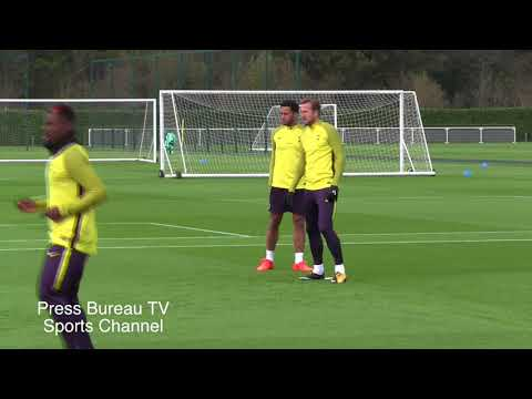 Tottenham Training pre Tottenham vs Real Madrid
