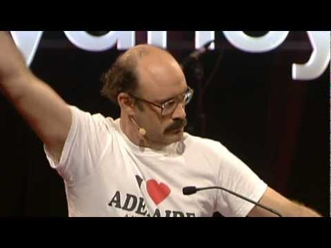Being silly: Sam Simmons at TEDxSydney