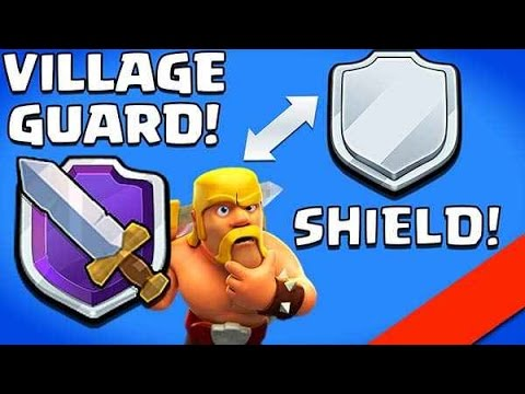 HOW TO ATTACK WITHOUT LOSING SHIELD/ Clash Of Clans