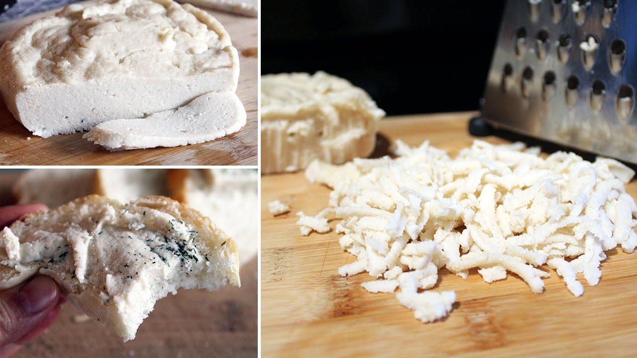 Creamy Cultured Garlic Mozzarella | Vegan Recipe (gluten-free)