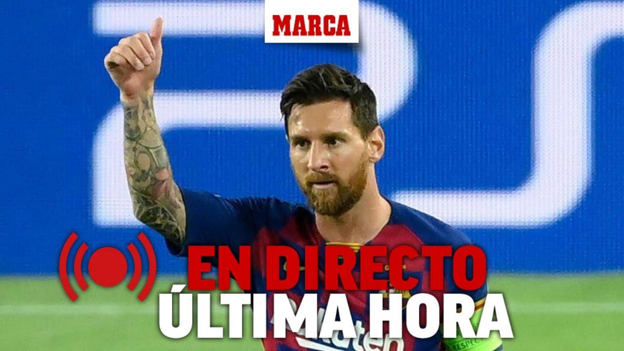 Sigue el culebrón de Messi y el FC Barcelona, última hora en DIRECTO