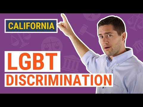 LGBT & Sexual Orientation Discrimination | CA Law Explained