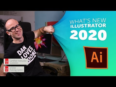 Adobe CC Illustrator 2020 New Features & Updates!