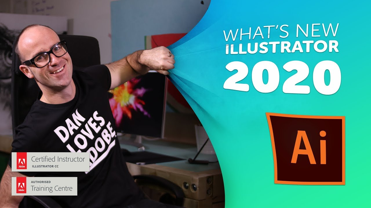 Adobe CC Illustrator 2020 New Features & Updates!