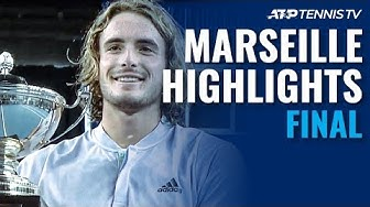 Tsitsipas Defeats Auger-Aliassime To Defend Marseille Crown! | Marseille 2020 Final Highlights