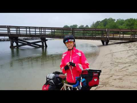 Jenni Reiling's ashes in the Atlantic Ocean