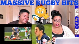 MASSIVE RUGBY HITS - HARDEST MEANEST TOUGHEST - MUST SEE! REACTION!!!