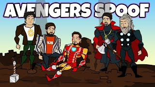 Avengers All Movie Spoof Compilation | Flash Animation [Funny Cartoon Spoof]
