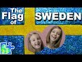 Play-Doh FLAG of SWEDEN! || Swedish Flag || Flags of the World || Nordic Flags || Sverige Flagga