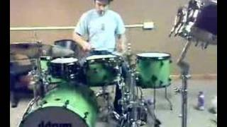 live drum and bass drummer