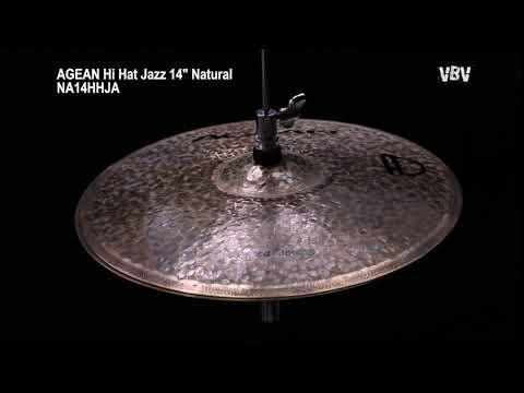 "14"" Hi Hat Jazz Natural video"