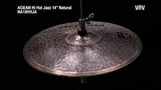 "14"" Hi Hat Jazz Natural video"