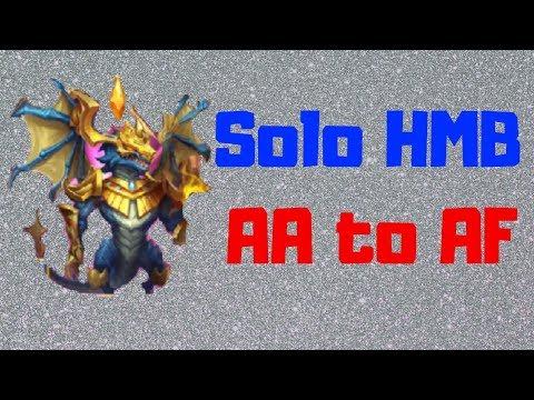 Zephyrica | HBM AA To AF Solo | Part 1 | Castle Clash