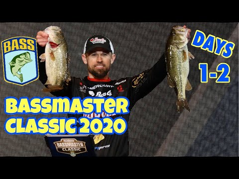 BASSMASTER CLASSIC 2020: BASS VLOG- Days 1 And 2 (3rd After Day 2!)