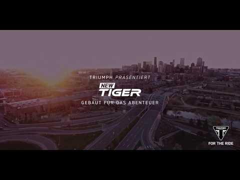 Enthüllung der brandneuen Tiger 800 XC & XR und Tiger 1200 XC & XR