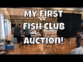 My first Fish club Auction Koi Angelfish Peppermint Platys RREA Guppys Half Black Guppies Part 1