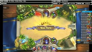 Hearthstone Heroes Of Warcraft: Quickest Match Ever Gameplay PC