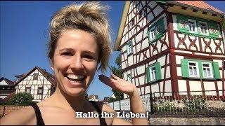 German in One Minute: das Fachwerkhaus! (I am back in Germany!)