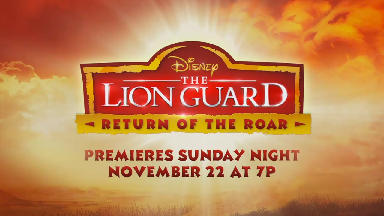 Teaser The Lion Guard Return Of The Roar Disney Channel Youtube