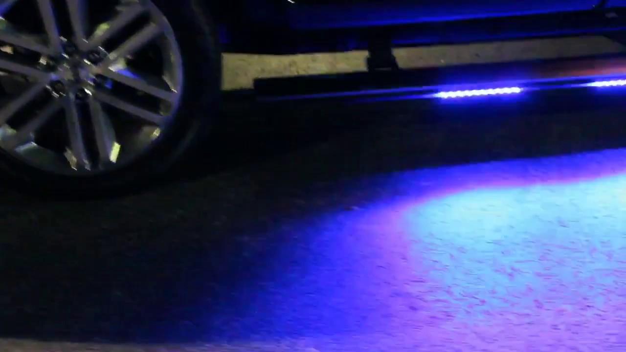 HG2 Emergency Lighting  Custom Lighting Package Blue