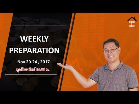 Forex สอน เทรด : 108 - Trading plan Nov 20-24, 2017