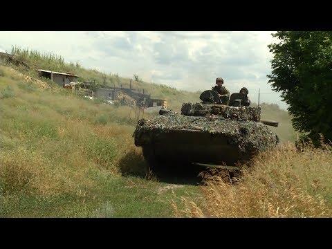 Донбасс. Как проходит отведение вооружений