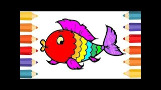 Coloring Pages Colorful Clown Fish | How to draw Animals ...