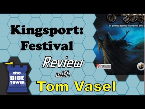 Kingsport Festival Review - with Tom Vasel