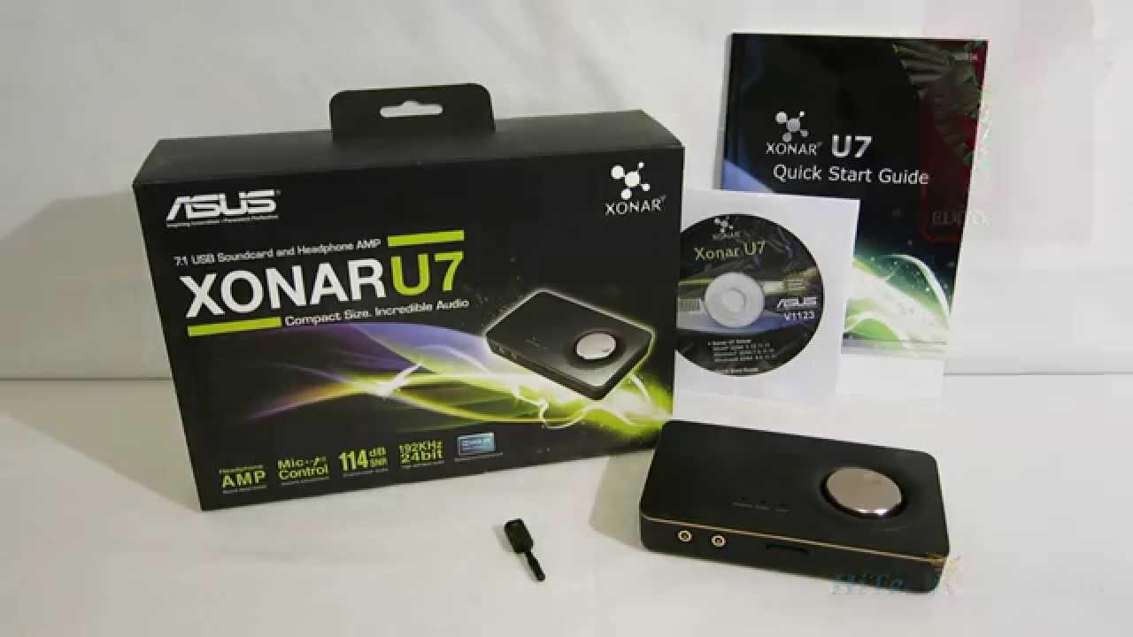 ASUS Xonar U5 Audio Treiber Windows 7