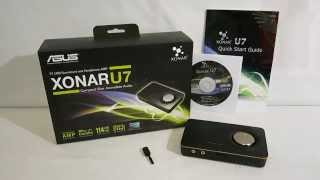 asus Xonar U7 - USB Sound Card External   -  Unboxing
