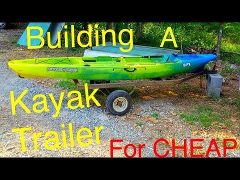 DIY Kayak Trailer. The FrankinTrailer Build