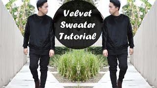 DIY: Black Velvet Sweater (Haider Ackermann Inspired) | From Scratch #19 thumbnail