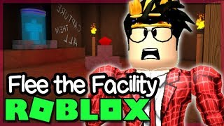 CRAWLING TO VICTORY IN ROBLOX FLEE THE FACILITY!