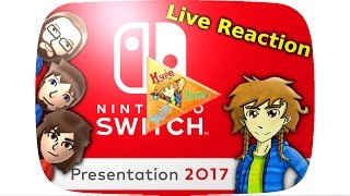 Nintendo Switch ★ Reveal Event Live Reaktion (GER)