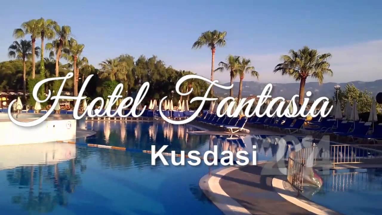 Hotel Fantasia Kusadasi 2014 Youtube