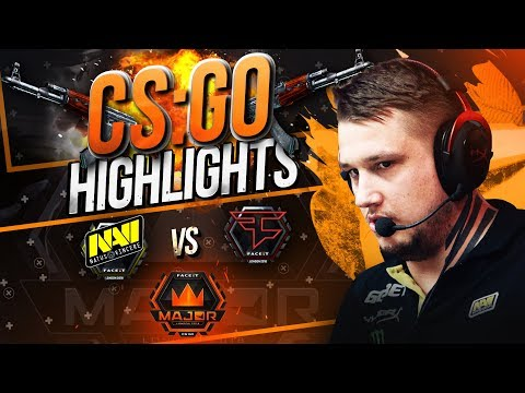 #FaceitMajor: NAVI vs FaZe