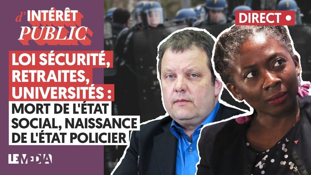 Download LOI SÉCURITÉ, RETRAITES, UNIVERSITÉS : MORT DE L'ÉTAT SOCIAL, NAISSANCE DE L'ÉTAT POLICIER
