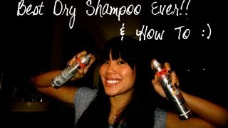 How To & BEST Dry Shampoo/Conditioner, DRUGSTORE! Thumbnail
