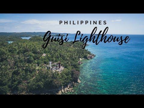 Guimaras Island Philippines - Guisi Beach & Lighthouse & Eating Mangos