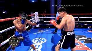 Gambar cover ROSALES VS PUCHETA - HOLLYWOOD FIGHT NIGHTS JUNE 6