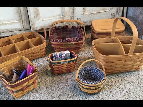 Longaberger Baskets | What I Use My Baskets For |