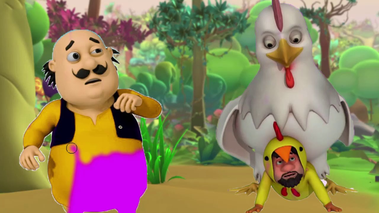 Motu Patlu In Hindi Chicken Dance The Treasure Hunt 3d Animated