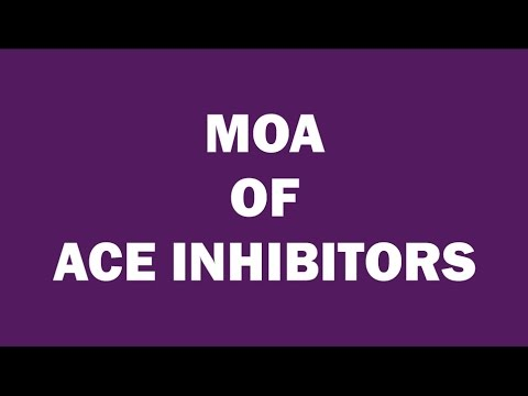 ACE INHIBITORS | MECHANISM OF ACTION (ANTI-HYPERTENSIVES) | MEDBOUYTUBE
