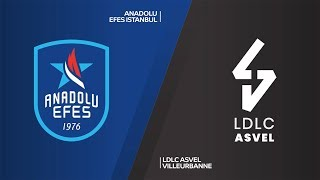 Anadolu Efes Istanbul - LDLC ASVEL Vileurbanne Highlights | Turkish Airlines EuroLeague, RS Round 20