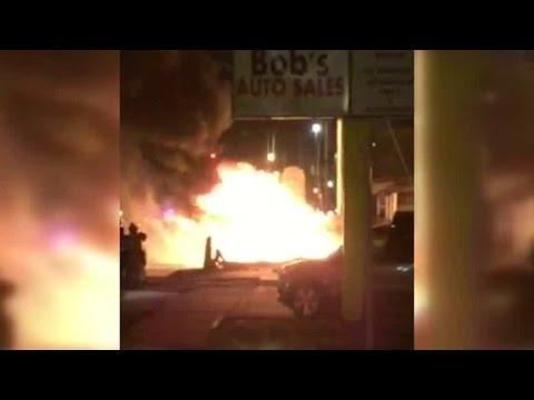 Hastings car fire
