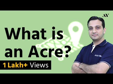 How Big Is An Acre Of Land Easily Convert Acres To Sq Ft Sq Meters Hectares And Sq Miles Youtube