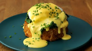 Hash Brown Benedict • Tasty