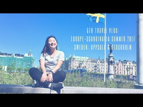 FIRST TIME IN EUROPE! Sweden Travel Vlog/Video!!
