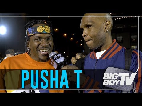 Pusha T Celebrates Nas' Album, Ends Beef w/ Drake & It's Back to Work!