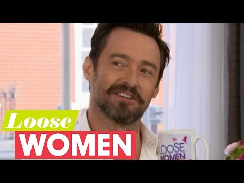 Hugh Jackman On His Wife Hosting The View, Wolverine Fans And Learning To Dance | Loose Women